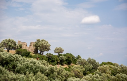 Велосипедный маршрут Макри-Марониа - Эврос