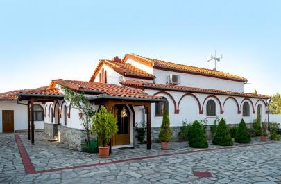 Heilige Kloster Lieben Frau Pangaiotisis Rasenmäher