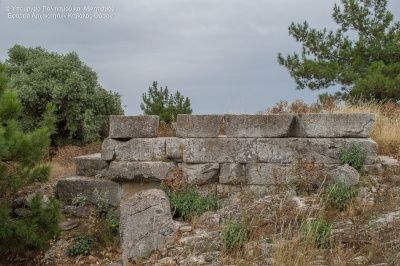 antike Stadt Thassos