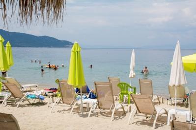Пляж Лимена (порта) - Тасос