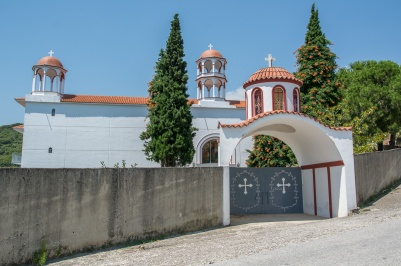 Monastery of Ypapanti in old Chortokopi Village