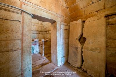 Македонская гробница Комнинон - Ставруполи
