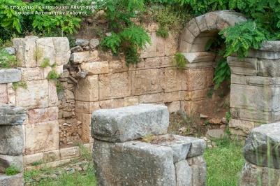 Roman portico in Agios Charalambos, Maroneia