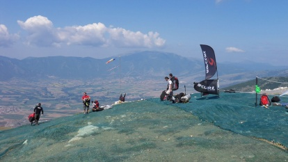 Соревнования полётов на дельтаплане